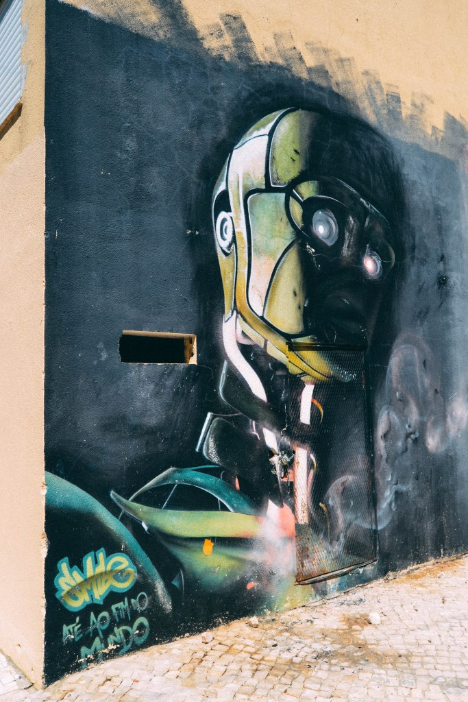 Street art, Graffiti, Bairro fim do mundo
